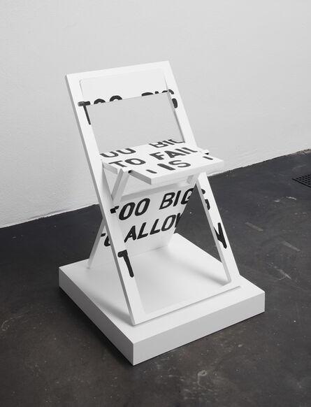 Sebastian Errazuriz, 'Occupy Chairs', 2012