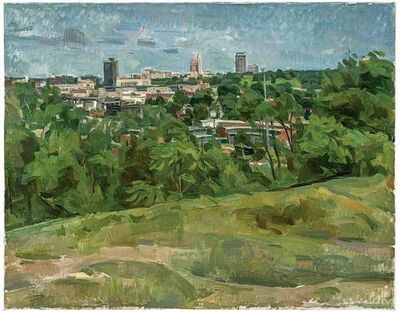 Wilbur Niewald, 'View of Roundhouse from Cambridge Circle I', 2013