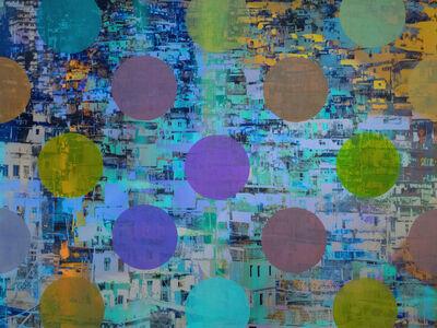Sarah Nind, 'Pistes et Points - Carnival 1', 2015
