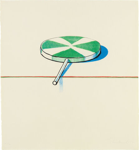 Wayne Thiebaud, 'Large Sucker, from Seven Still Lifes and a Rabbit', 1971