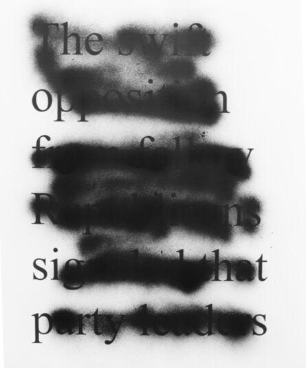 milosz odobrovic, 'Untited', 2016