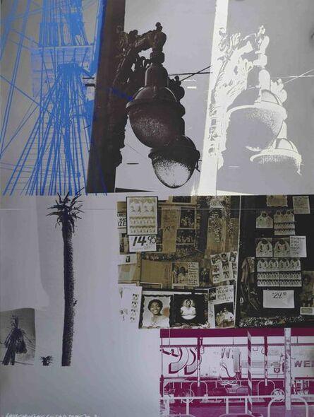 Robert Rauschenberg, 'Narcissus/ROCI USA (Wax Fire Works)', 1980