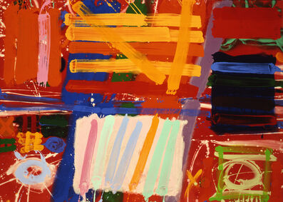 Albert Irvin RA, 'Lexington II', 1989