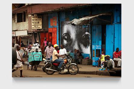 JR, '28 Millimètres, Women are Heroes, Downtown Monrovia, Liberia', 2008