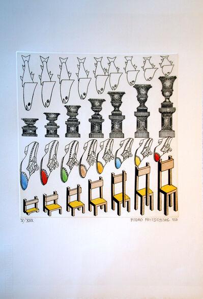 Pedro Friedeberg, 'Aumentaciones y Disminuciones ', 2005