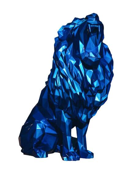 Richard Orlinski, 'Lion rugissant', 2021