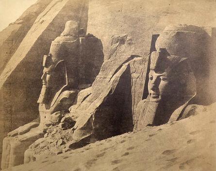 Robert Murray, 'Temple of Abou Simbel, Egypt.', 1857