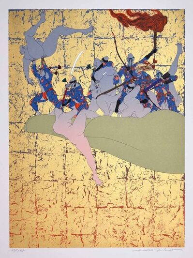 Hideo Takeda, 'Daibutsuden Destroyed by Fire', 1985-1999