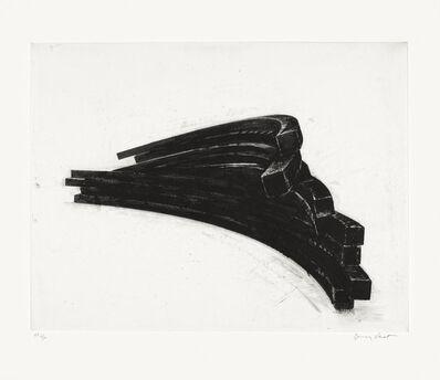 Bernar Venet, 'Effondrement: Arcs', 2013