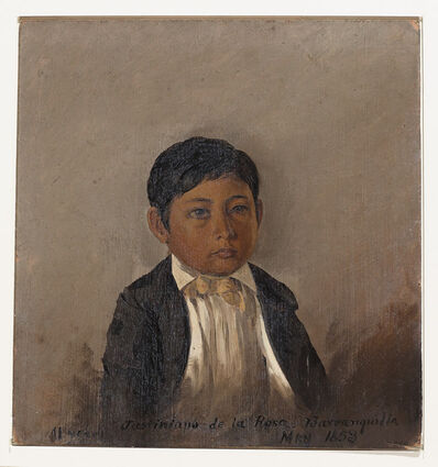 Frederic Edwin Church, 'Colombia, Barranquilla, portrait of boy', 1853