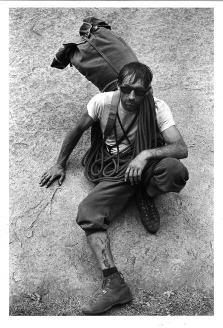 Glen Denny, 'ROYAL ROBBINS AFTER THE FIRST ASCENT OF TIS-SA-ACK', ca. 1960