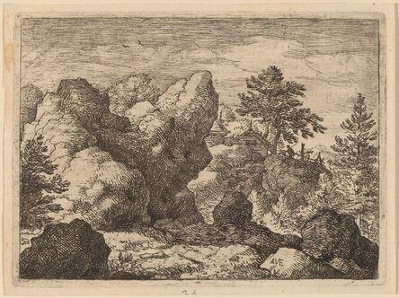 Allart van Everdingen, 'The Pointed Rock', probably c. 1645/1656