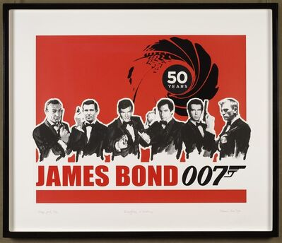 James Hart Dyke, 'Everything or Nothing – 50 Years of James Bond: Red', 2012