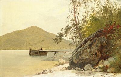 John Frederick Kensett, 'Landing at Sabbath Day Point', ca. 1853