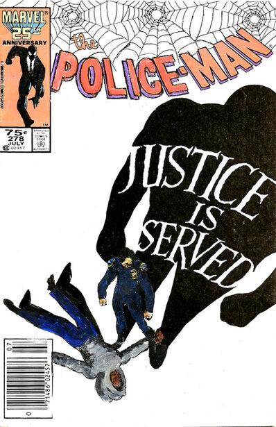 Kumasi Barnett, 'Police-man #27 -Justice is Served?', 2016