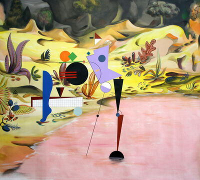 Adriana Minoliti, 'De la serie Playground No. 4', 2015