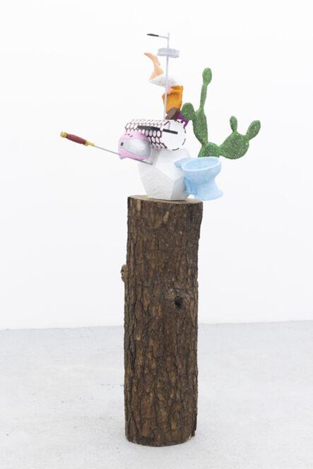 Gabriel Rico, 'Las cosas antiguas que nos pertenecen (Dodecahedron/toilet)', 2021