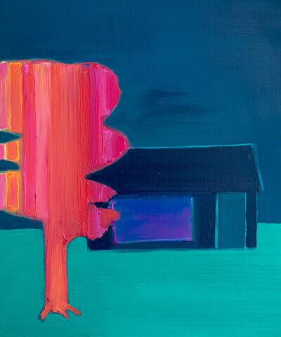 Tom Hammick, 'Pink Tree Garden Haven', 2021