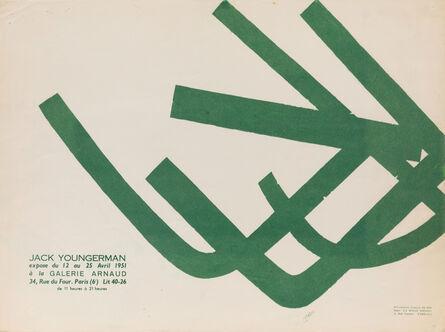 "Jack Youngerman, 'Galerie Arnaud, ""Jack Youngerman""', 1951"