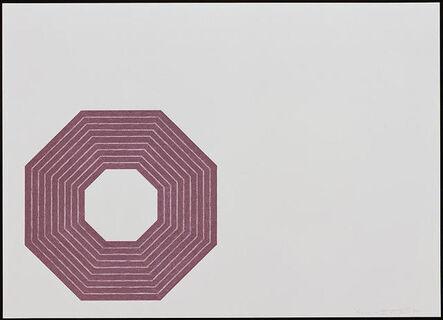 Frank Stella, 'Henry Garden', 1972