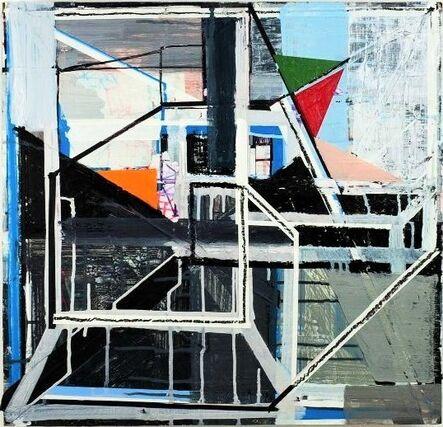 "Vicente Hemphill, '""HeadGames-3"", 2015, Mixed Medium on Board, UNIQUE', 2014"