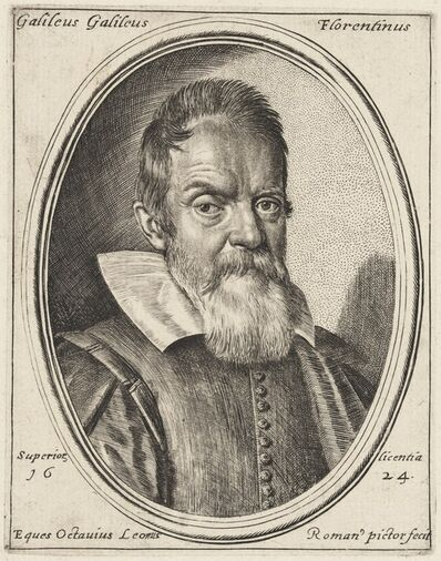 Ottavio Leoni, 'Galileo Galilei', 1624