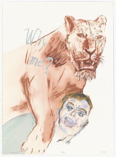 Leon Golub, 'Why Me!', 1999