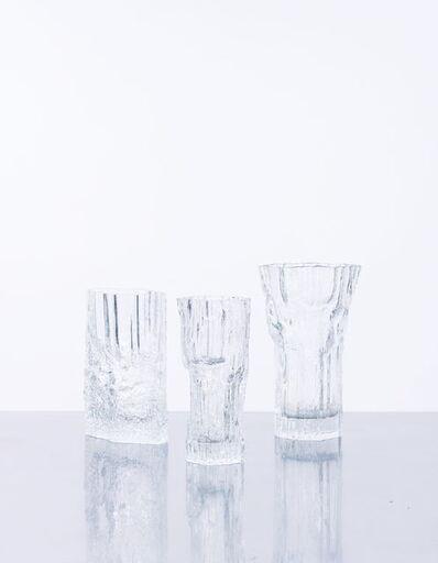 Tapio Wirkkala, 'Avena Ensemble de 3 vases', vers 1970