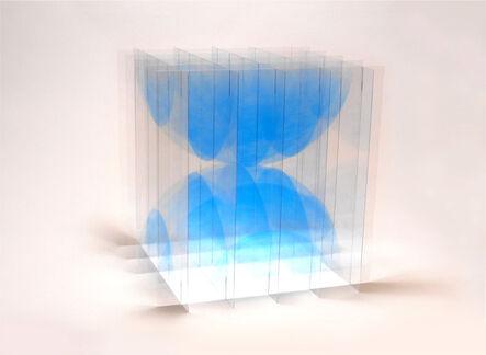 Go Segawa, 'Collision_blue', 2021