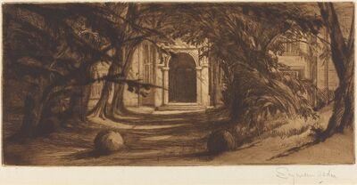 Francis Seymour Haden, 'Mytton Hall', 1859