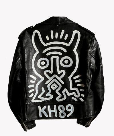 Keith Haring, 'Schott Motorcycle Jacket Painting', 1989