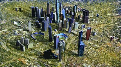 Rob Carter, 'Metropolis (video still)', 2008