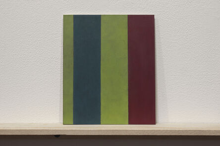 """Martí Cormand, 'Formalizing their concept: Sherrie Levine's """"Broad Stripe: 9""""', 2018"""