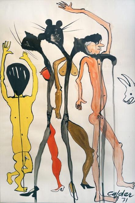 Alexander Calder, 'Cat People', 1971