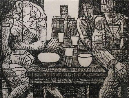 Marcel Gromaire, 'L'Estaminet', 1952