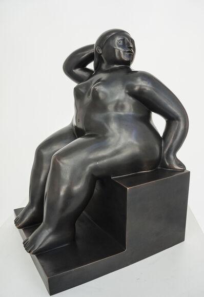 Fernando Botero, 'Donna Seduta su Cubo', 2006