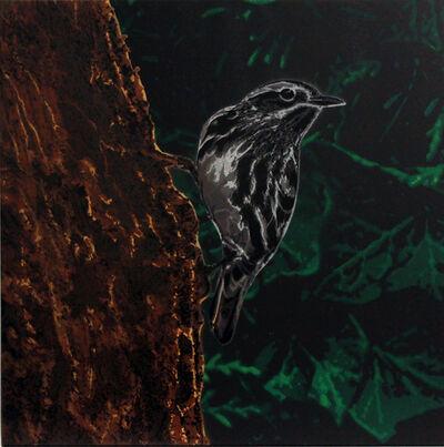 Logan Hicks, 'Black and White Warbler', 2021