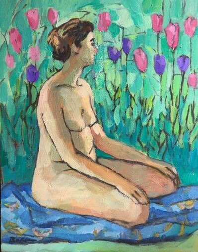 Teresa Baksa, 'Grounded with Tulips', 2008