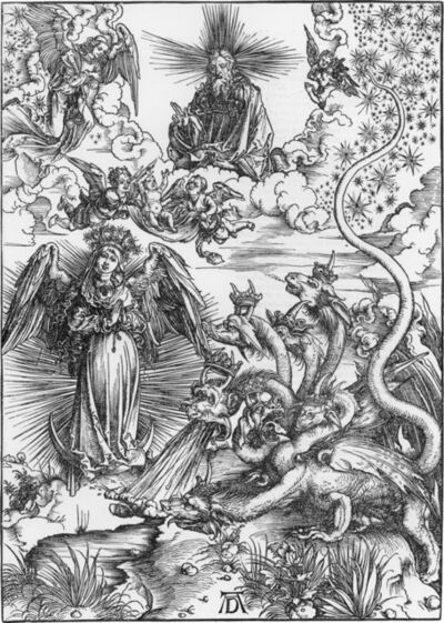 Albrecht Dürer, 'The Apocalyptic Woman', 1498