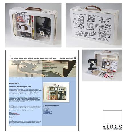 Tom Sachs, 'Nutsy Deluxe Racing Set, SIGNED/Numbered in Ink, Edition of 150, Deutsche Guggenheim Berlin No.24', 2003