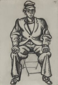 Jean Hélion, 'Homme Assis (Seated Man)', 1947