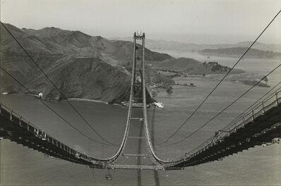 Peter Stackpole, 'Golden Gate Bridge Construction', 1935