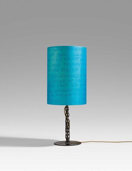 Franz West, 'Elisabeth Thoman Reading Lamp', 2004