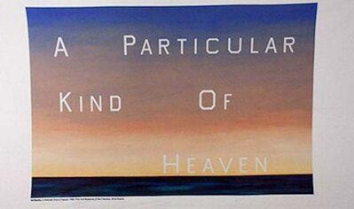 Ed Ruscha, 'A Particular Kind of Heaven towel', ca. 2000