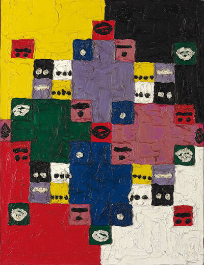 Alfred Jensen, 'Magic 14', 1960