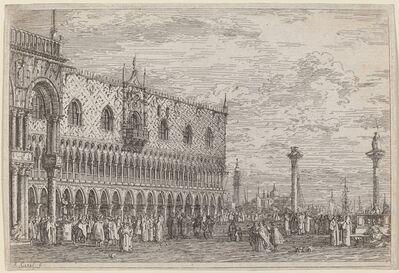 Canaletto, 'La Piera del Bando. V.', ca. 1735/1746