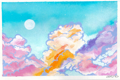 Donia, 'Daydream: Clouds', 2018