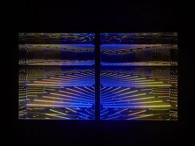 "Hans Kotter, 'Beyond Light ""Lines""', 2015"