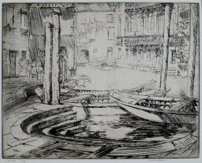 Donald Shaw MacLaughlan, 'Palios, Venice', 1926