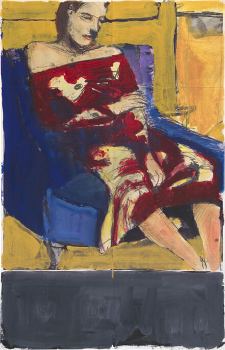 Richard Diebenkorn, 'Seated Woman', ca. 1964